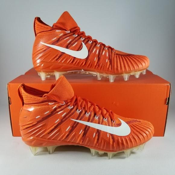 purchase cheap 4fca5 596d5 Nike Alpha Menace Elite Football Cleat Orange 11.5